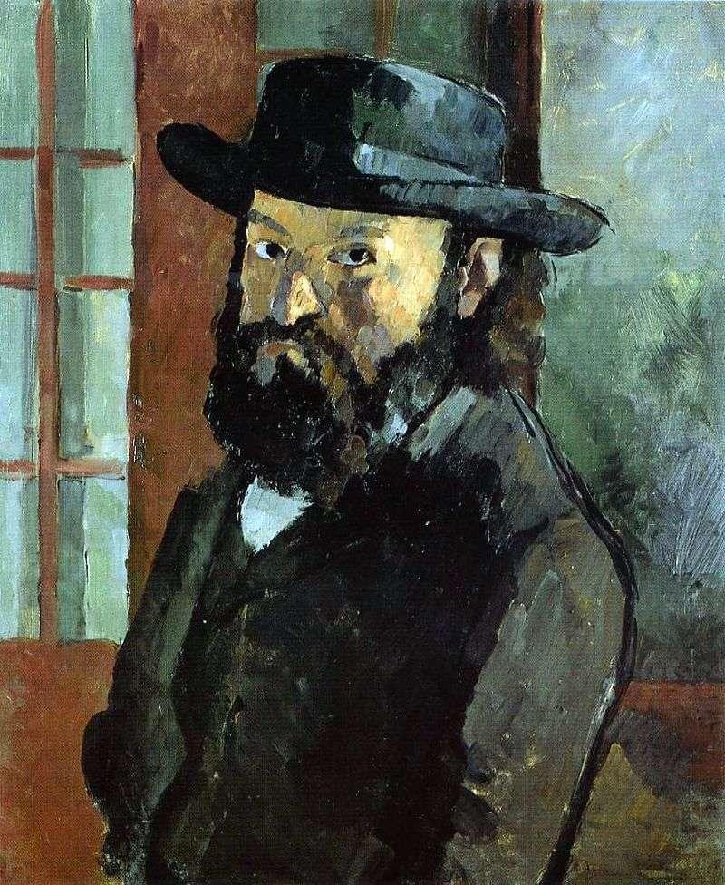 Autoportret z kapeluszem   Paul Cezanne