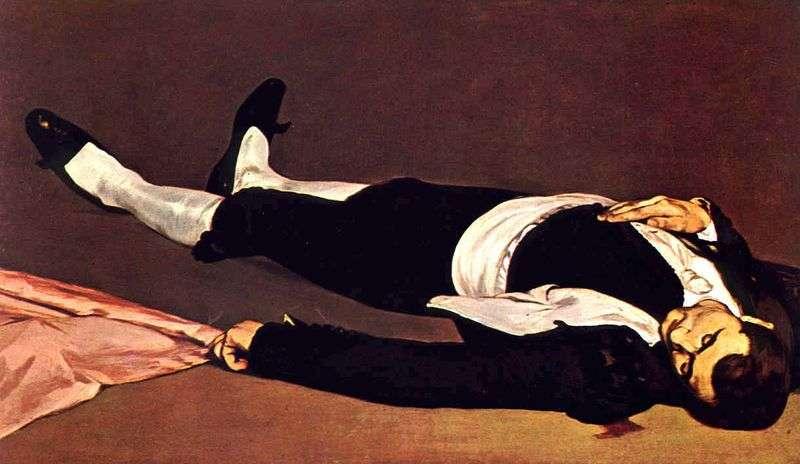 Martwy torreador   Edouard Manet