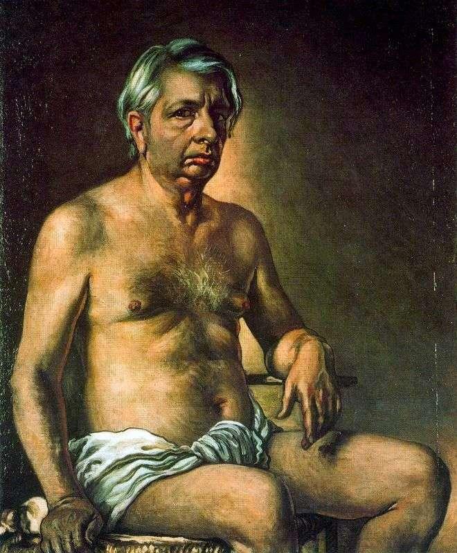 Autoportret   Giorgio de Chirico