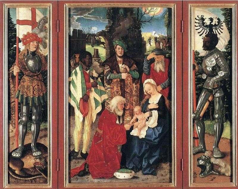 Adoracja Trzech Króli   Hans Baldung