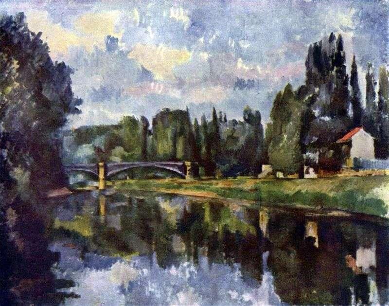 Wybrzeże w Marne   Paul Cezanne