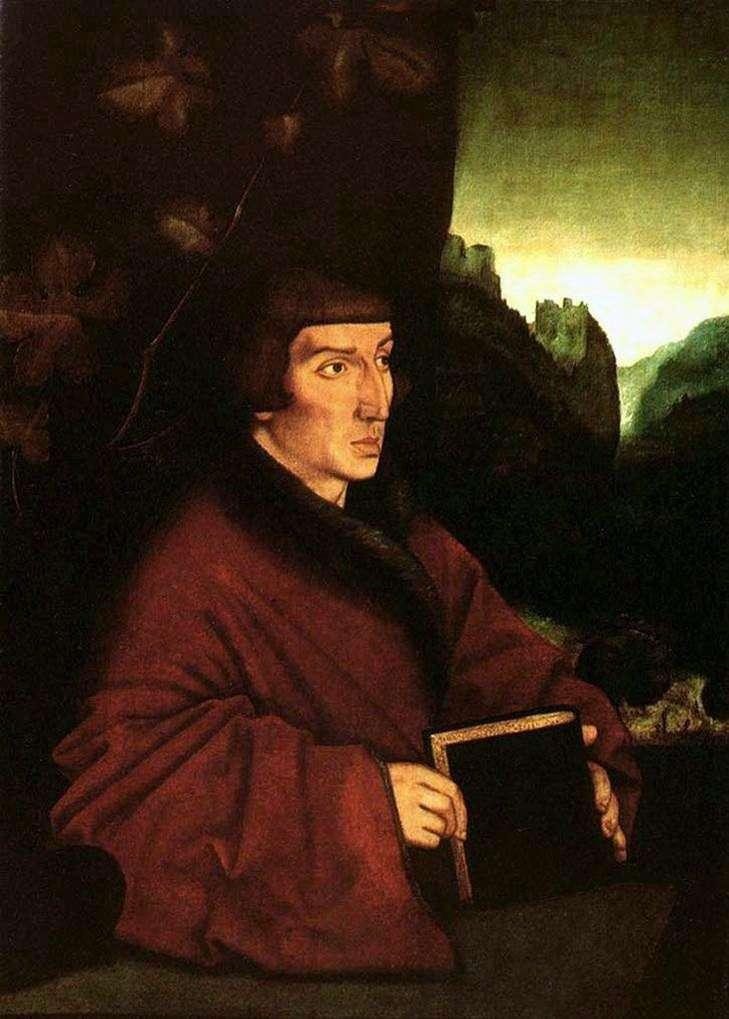 Portret Ambrozja Wolmar Keller   Hans Baldung