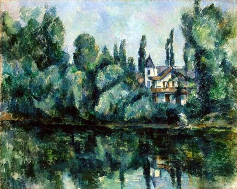 Wybrzeże Marne   Paul Cezanne