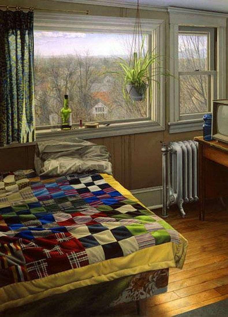 Sypialnia zimą   Scott Pryor