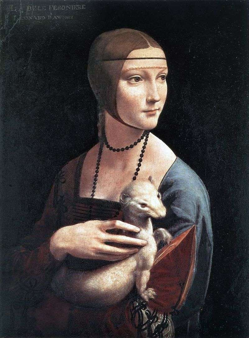 Dama z gronostajem   Leonardo da Vinci