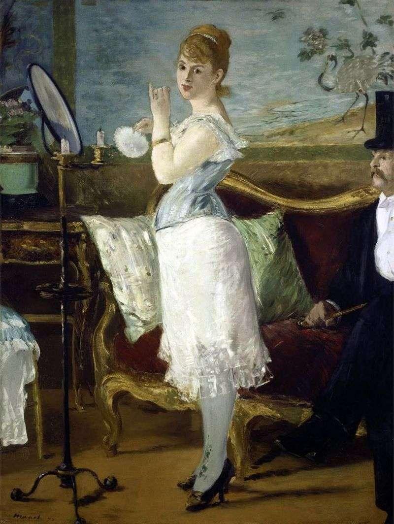 Nana   Edouard Manet