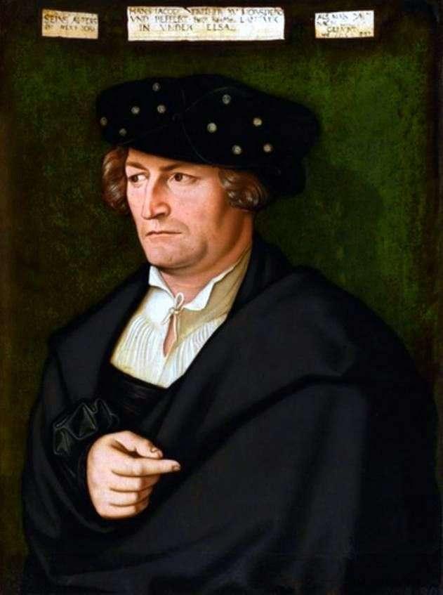 Portret Jacoba von Morsperga   Hansa Baldunga