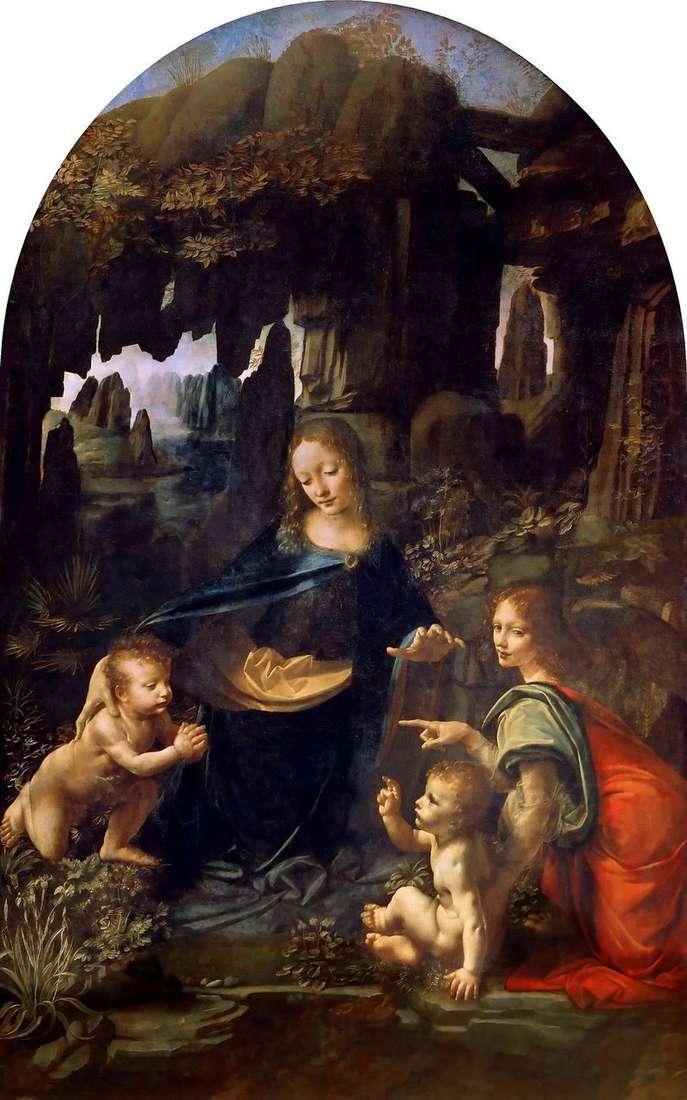 Maryja Panna w Grocie   Leonardo da Vinci