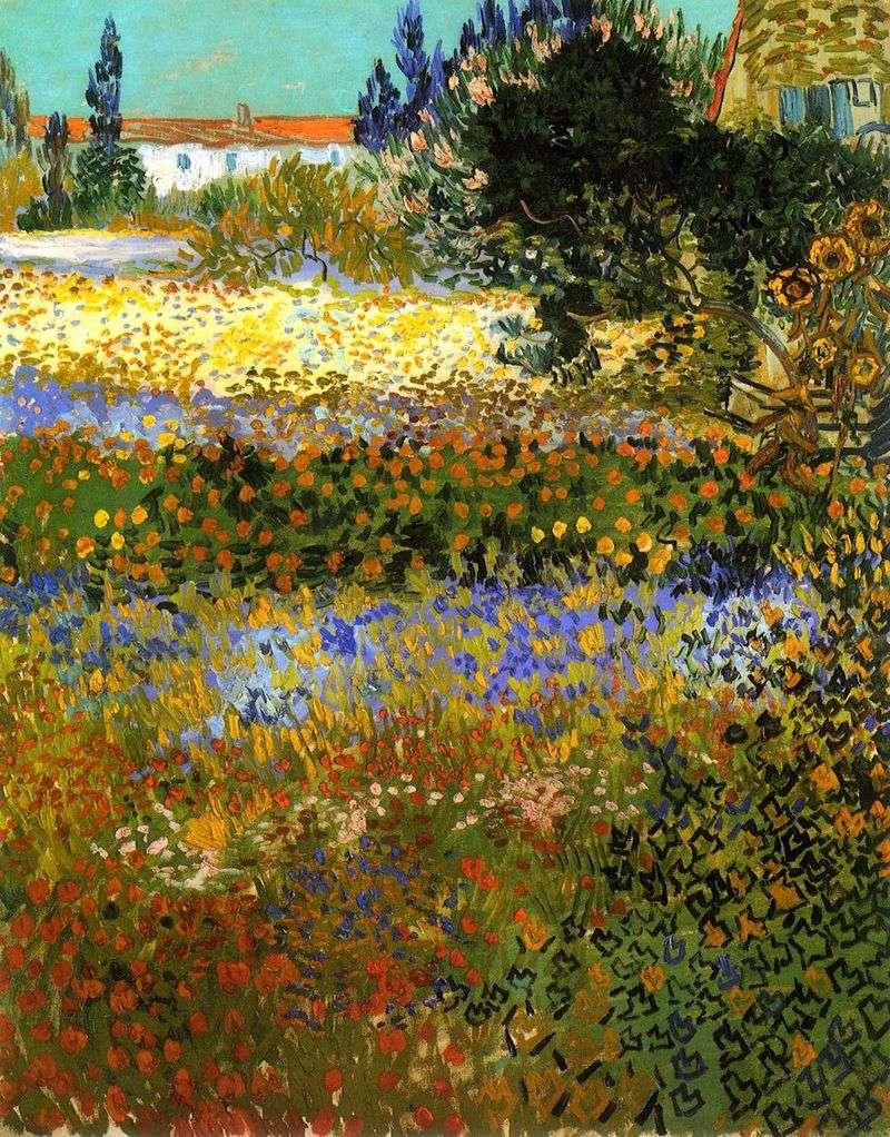 Kwitnący ogród   Vincent Van Gogh