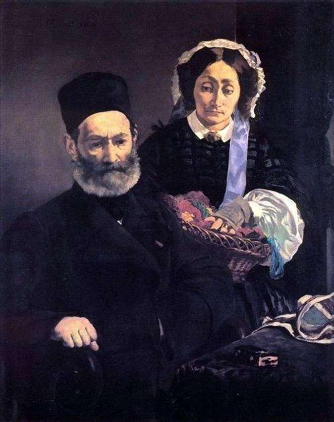 Monsieur i Madame Manet   Edouard Manet
