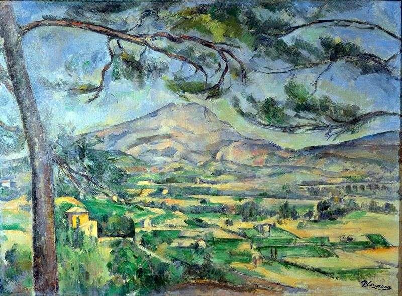 Mount St. Victoria   Paul Cezanne