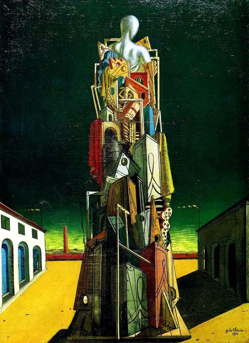Wielki metafizyk   Giorgio de Chirico