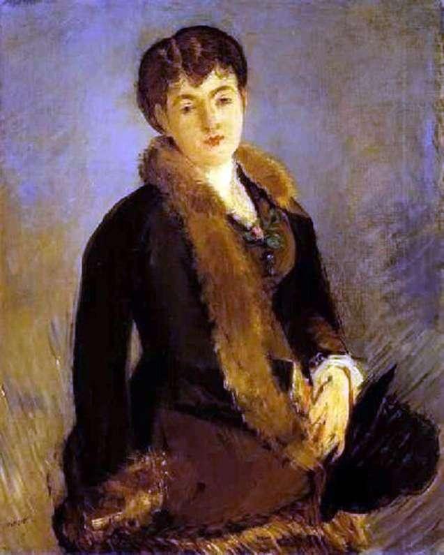 Portret Isabel Lemonier   Edouard Manet