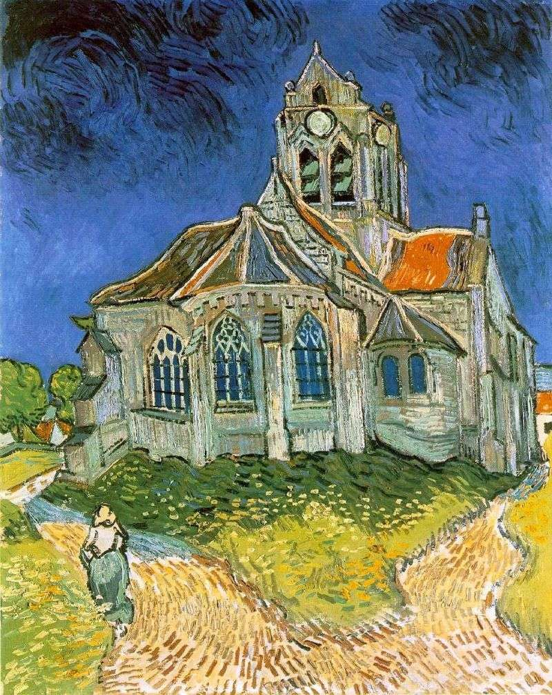 Kościół w Auvers   Vincent Van Gogh