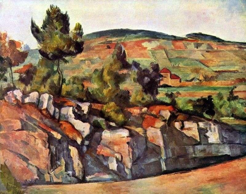 Góry w Prowansji   Paul Cezanne