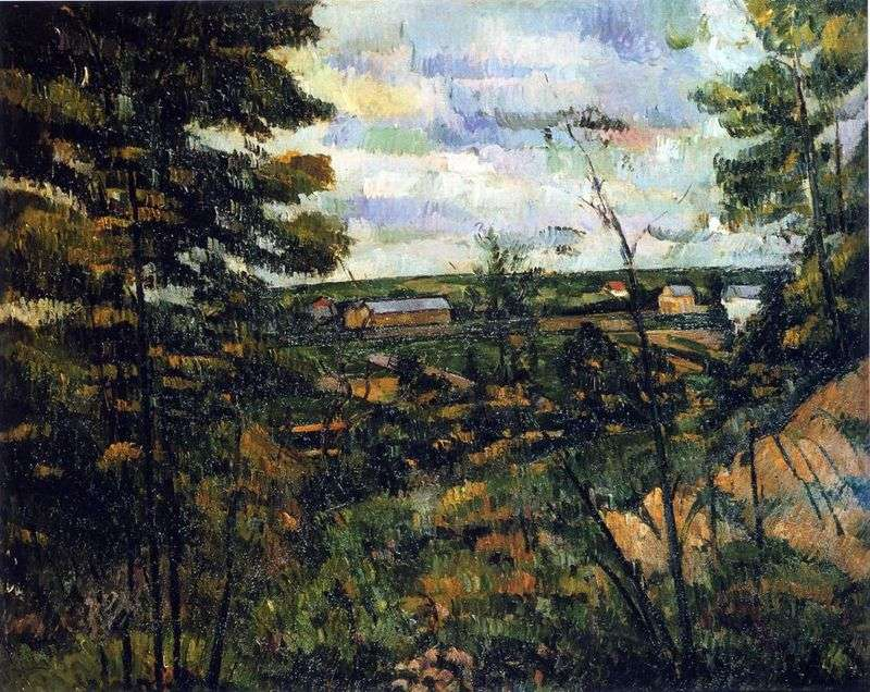 Dolina Oise   Paul Cezanne