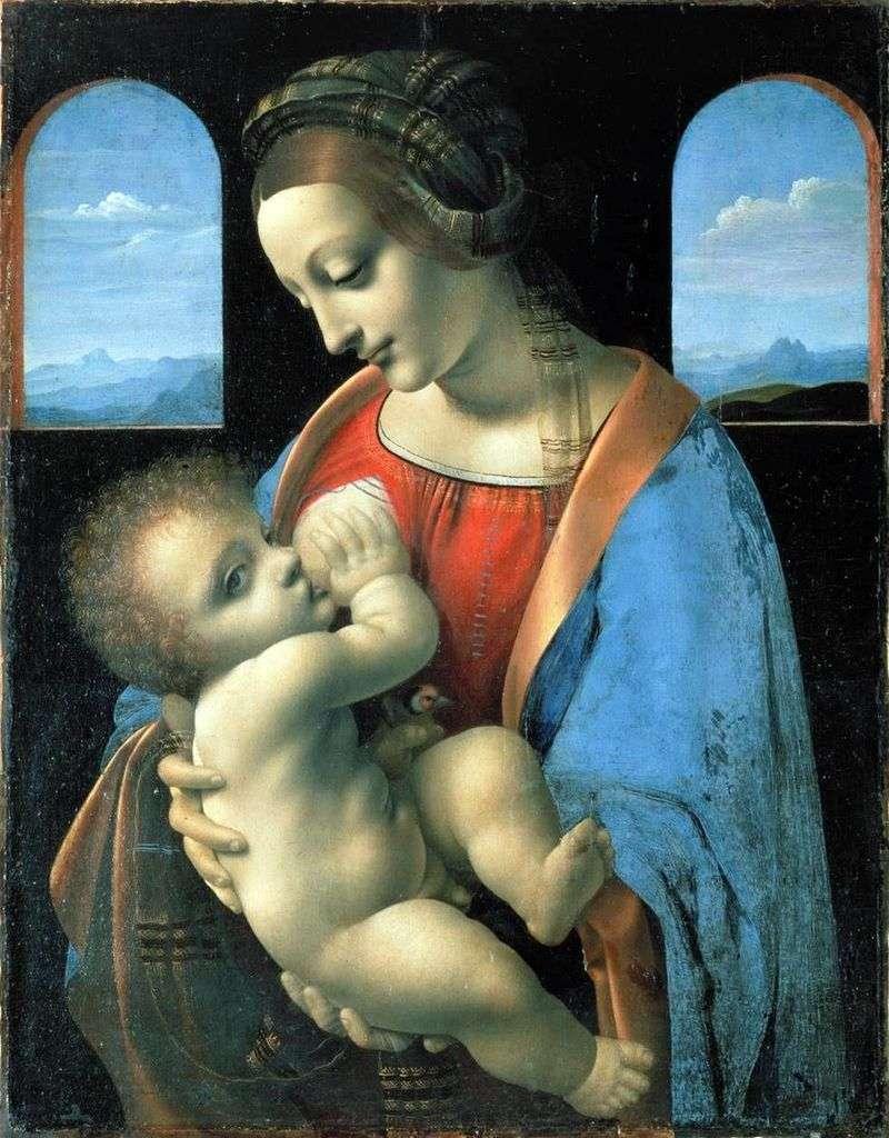 Madonna Litta   Leonardo Da Vinci