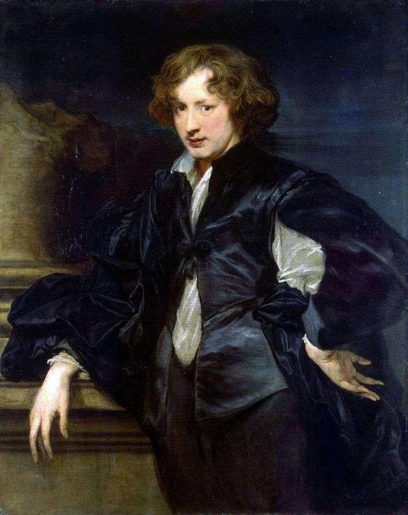 Autoportret   Anthony Van Dyck