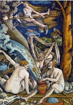 Sabbath Witches   Hans Baldung
