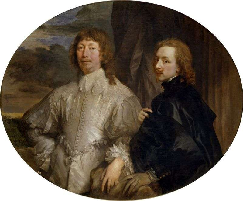Autoportret z Sir Endimion Porter   Anthony Van Dyck