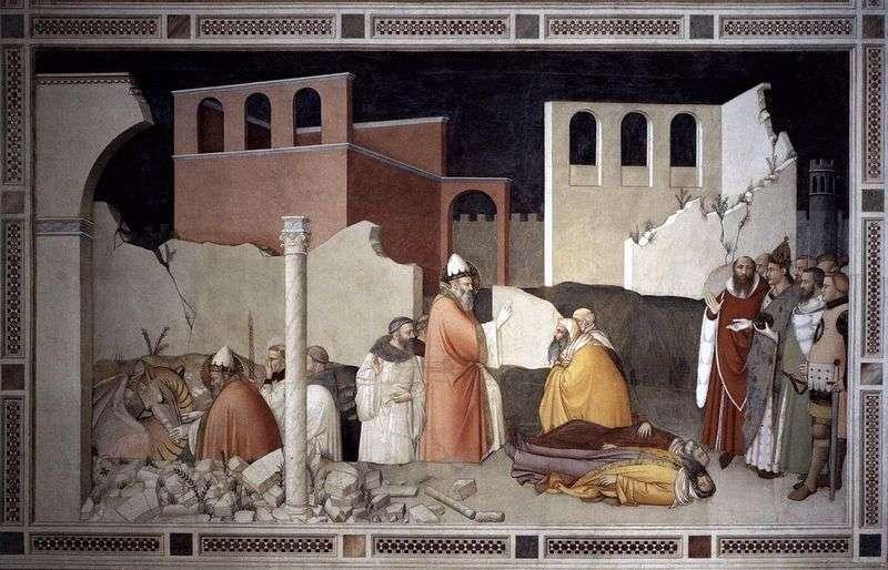 Cud papieża Sylwestra Św. Smoka   Maso di Banco