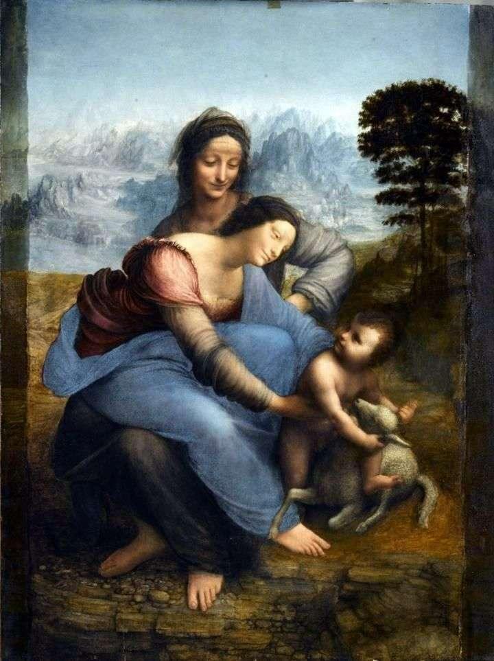 Madonna z Dzieciątkiem z Anną   Leonardo da Vinci