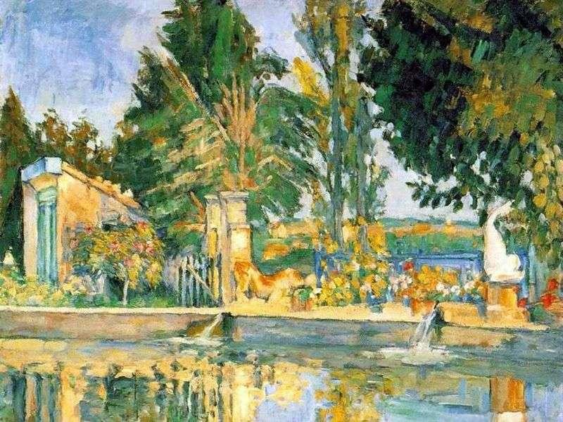 Zha de Buffan Pool   Paul Cezanne