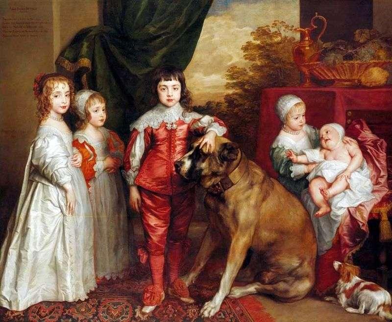 Dzieci Carla   Anthony Van Dyck
