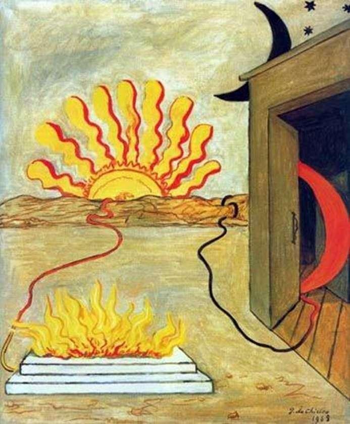Poświęcenie słońca   Giorgio de Chirico