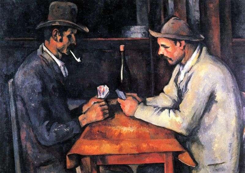 Gracze kart   Paul Cezanne