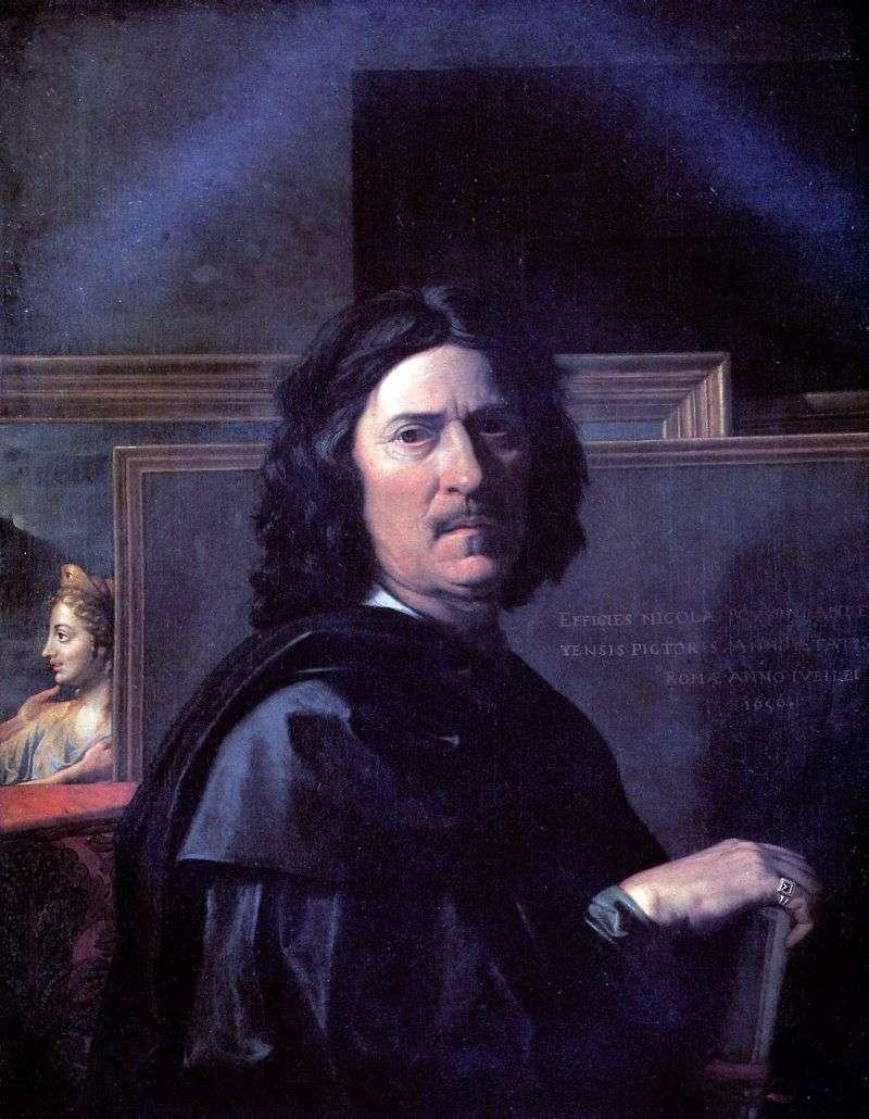 Autoportret   Nicolas Poussin
