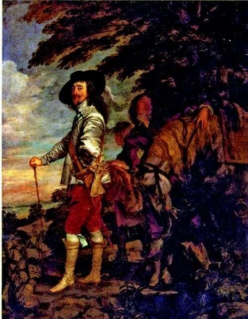 Karol I, król Anglii, na polowaniu   Anthony Van Dyke