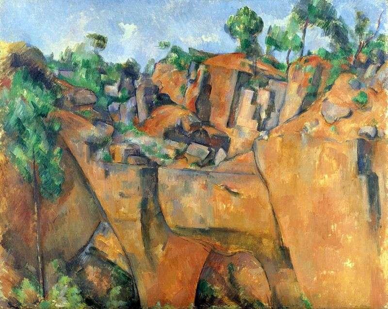 Quarry Bibemyu   Paul Cezanne