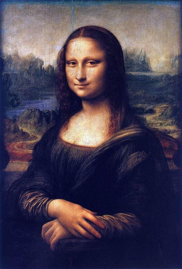 Mona Lisa lub Gioconda   Leonardo Da Vinci