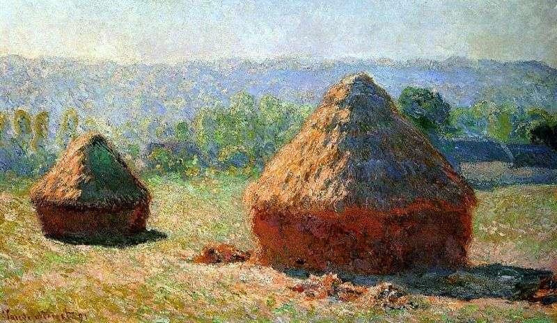 Haystacks   Claude Monet