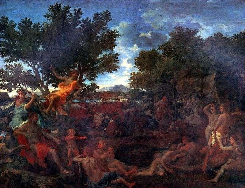 Apollo i Daphne   Nicolas Poussin