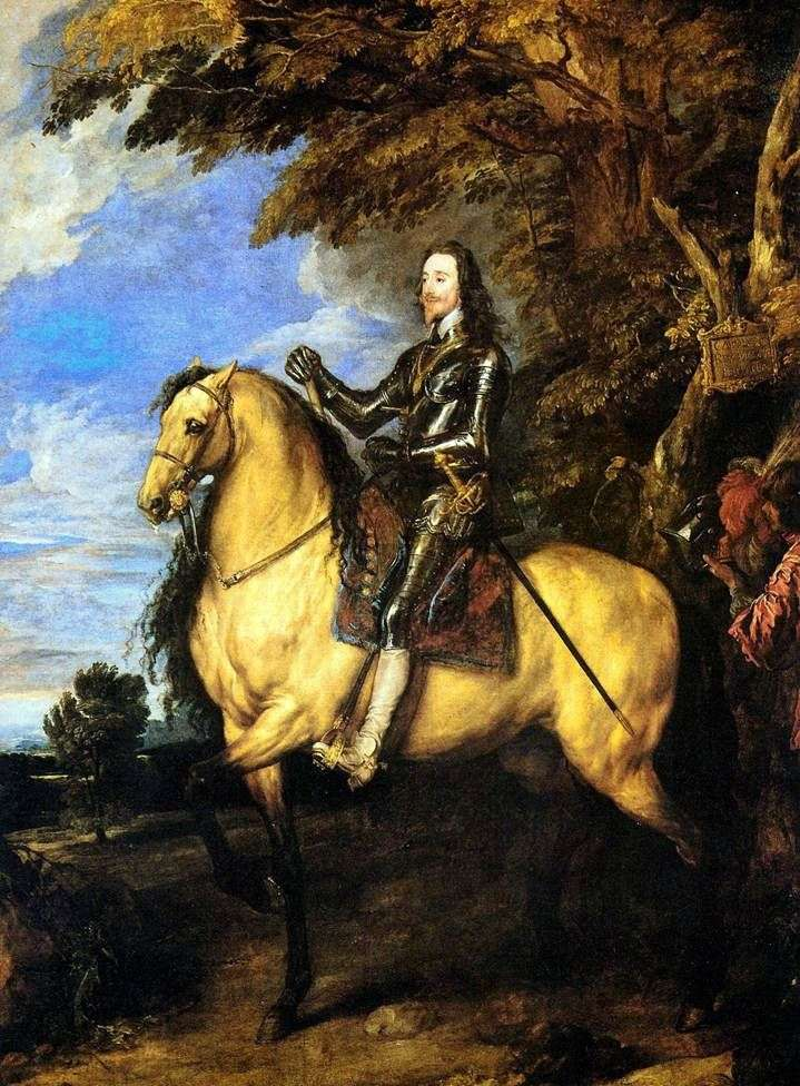 Konny portret Charlesa I   Anthonyego Van Dycka