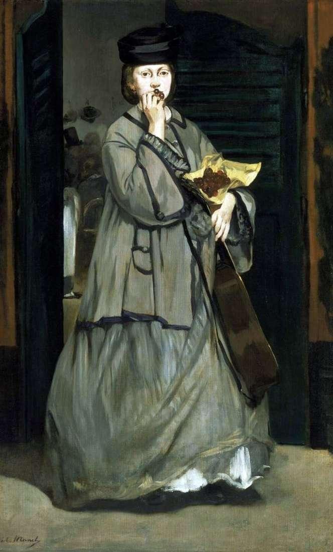 Piosenkarz uliczny   Edouard Manet