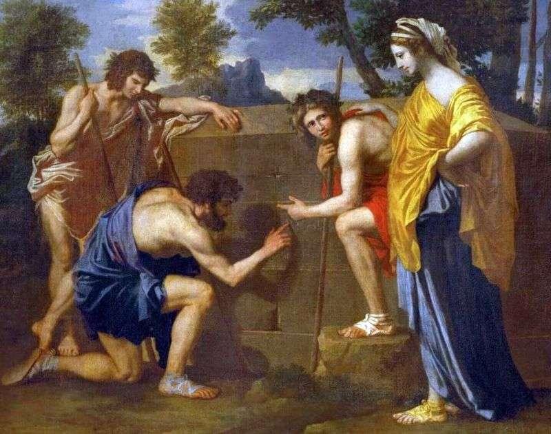 Arcadian Shepherds   Nicolas Poussin