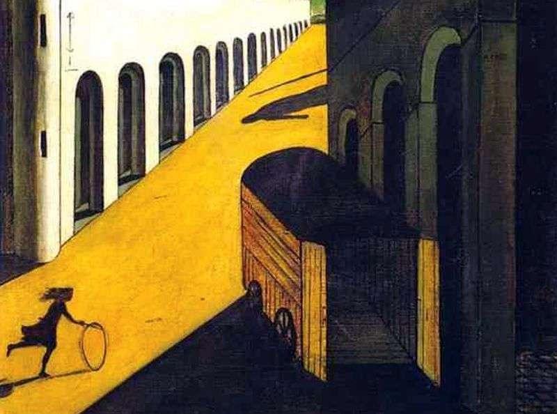 Melancholia i tajemnica ulicy   Giorgio de Chirico
