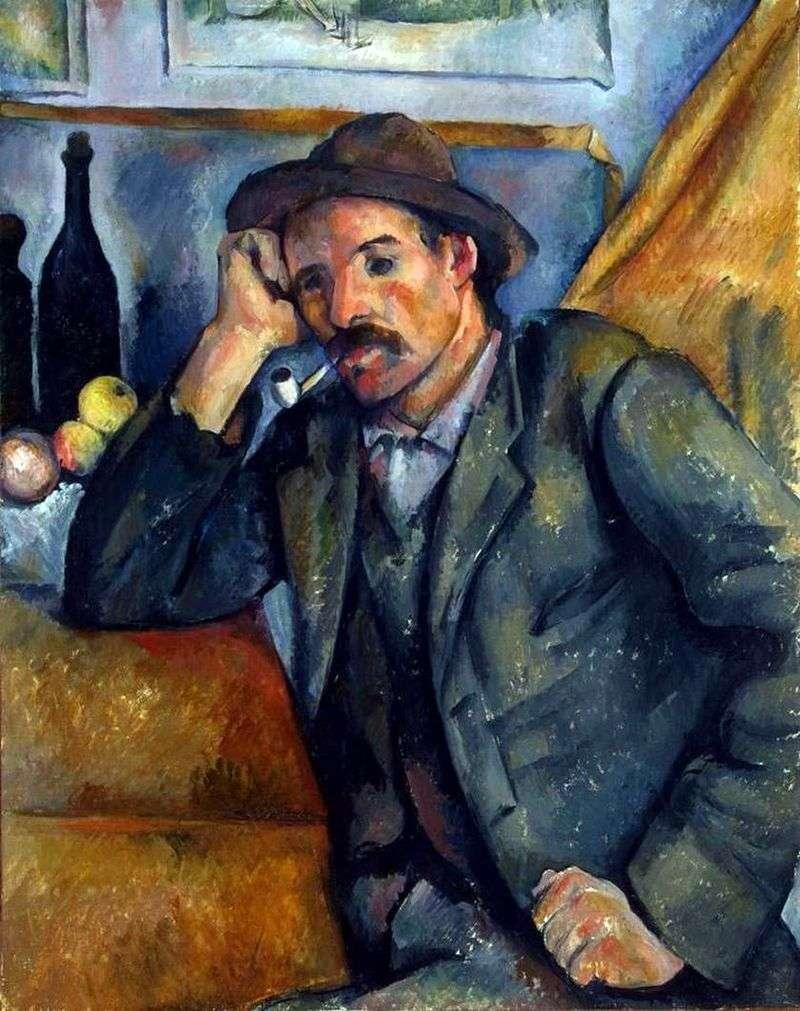 Pałkarz   Paul Cezanne