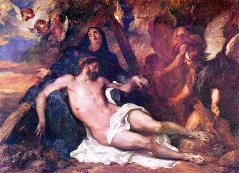 Lamentacja Chrystusa   Anthony Van Dyke