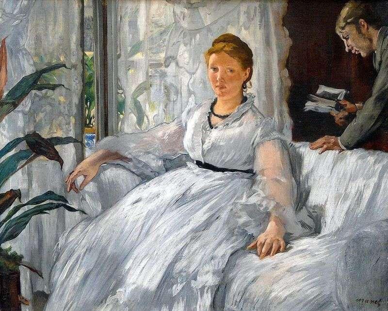 Czytanie   Edouard Manet