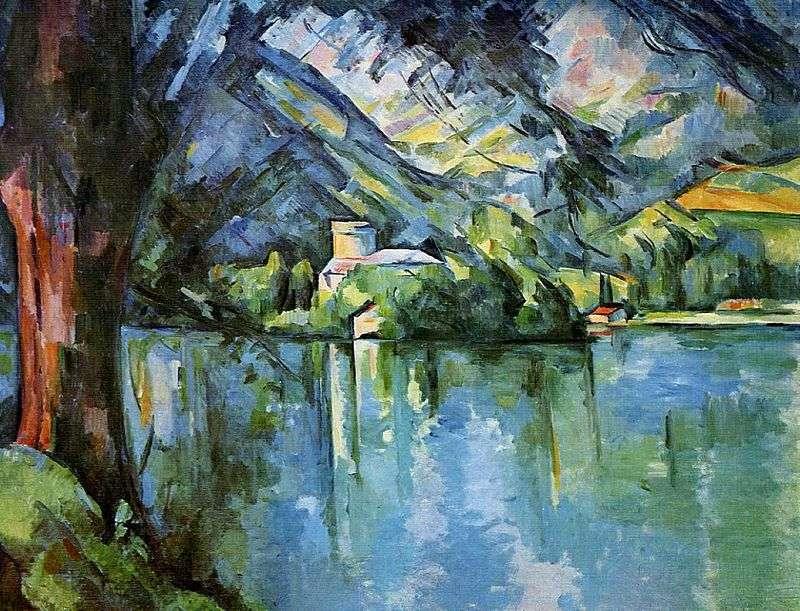 Morze w Annecy   Paul Cezanne