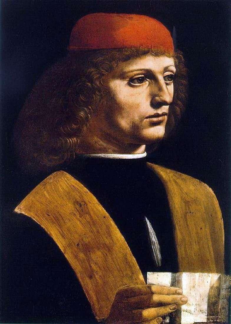 Portret muzyka   Leonardo Da Vinci