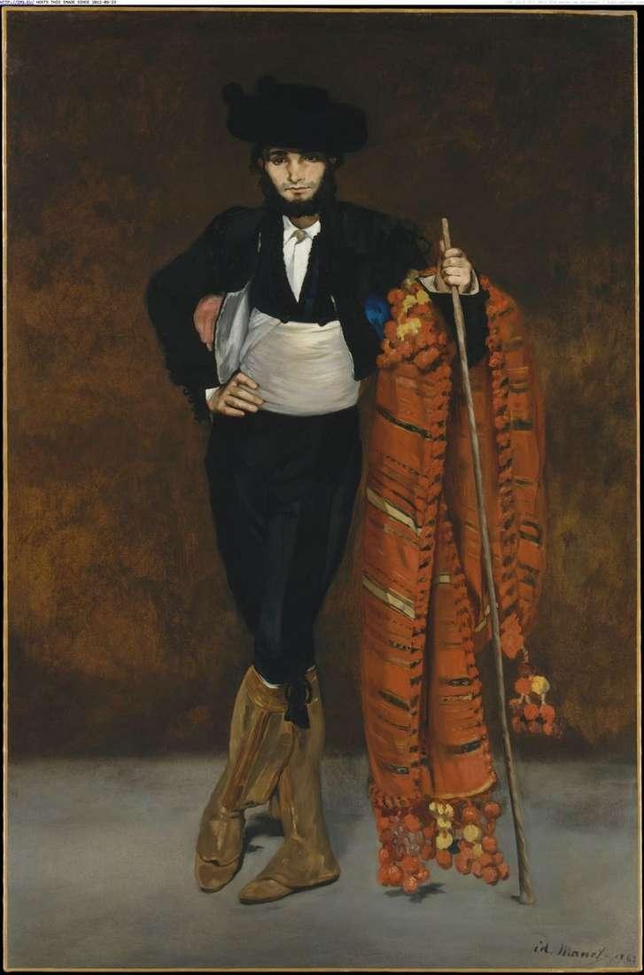 Młody człowiek w garniturze   Edouard Manet