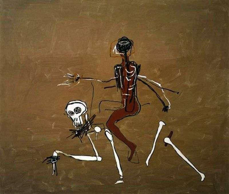 Jazda na śmierć   Jean Michel Basquiat