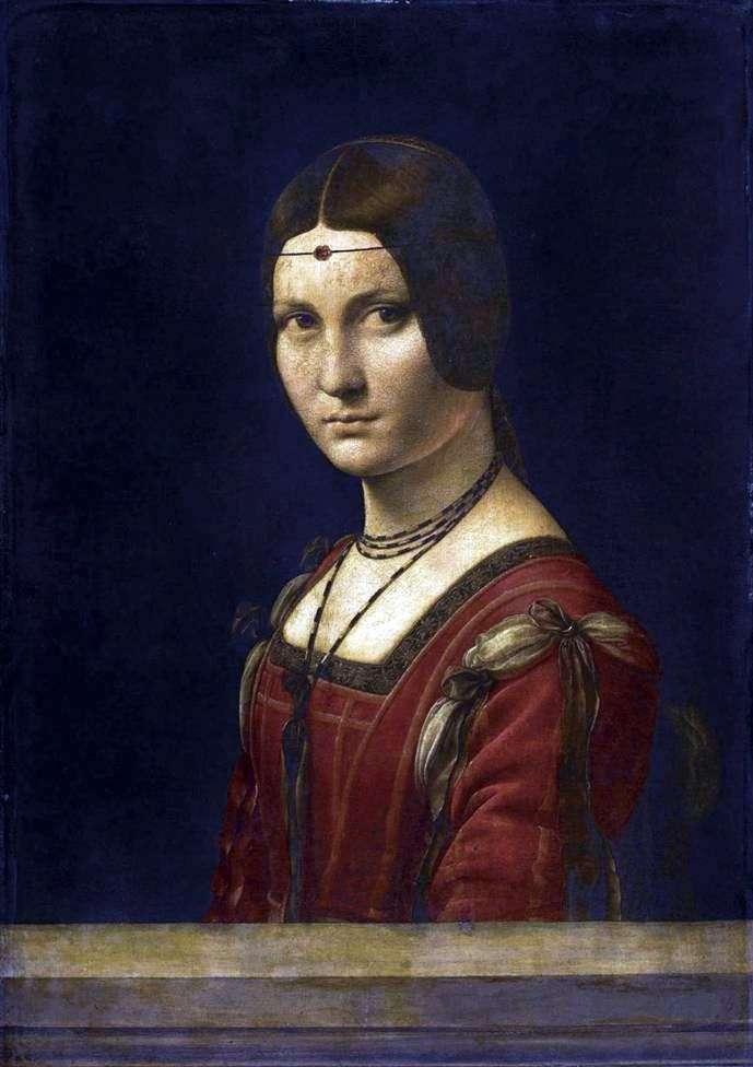 Piękna Ferronera   Leonardo Da Vinci