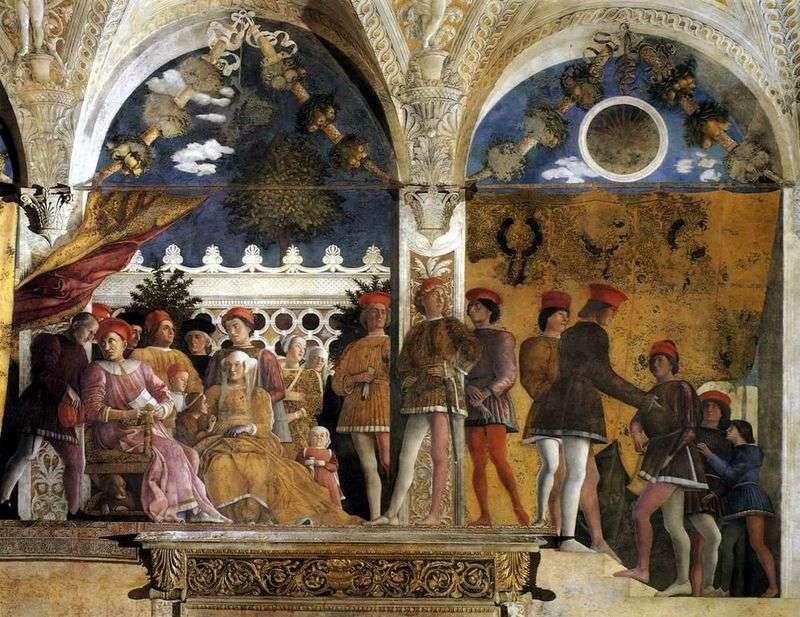 Camera degli Spozi   Andrea Mantegna