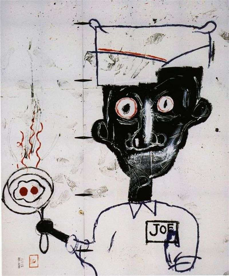 Oczy i jaja   Jean Michel Basquiat